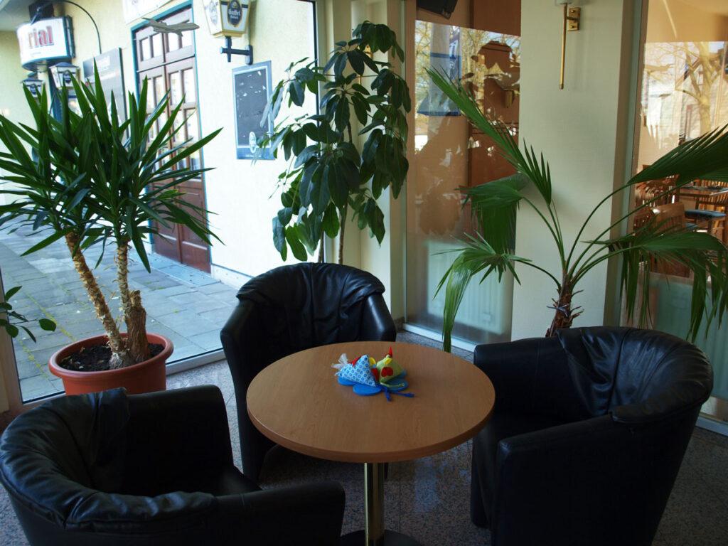 Lobby mit Sitzgruppe
