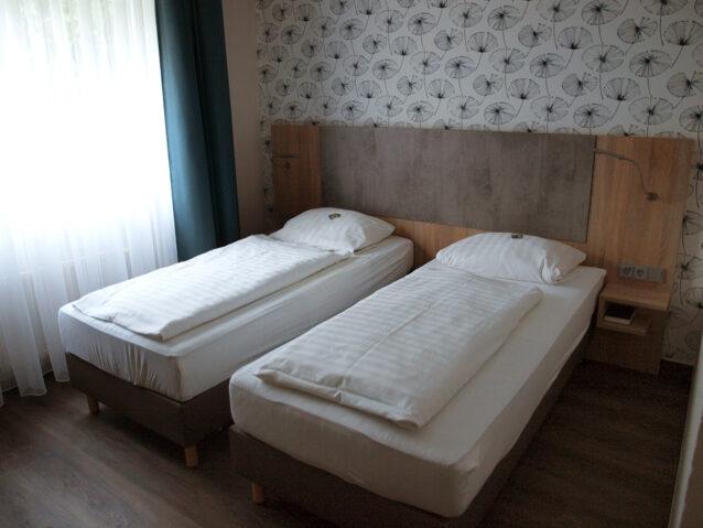 Ansicht 2 Betten in Zimmer 10
